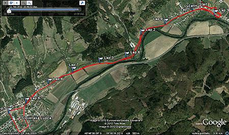 Lucatinska 11 mapa